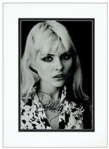 Debbie Harry Autograph Signed - Blondie